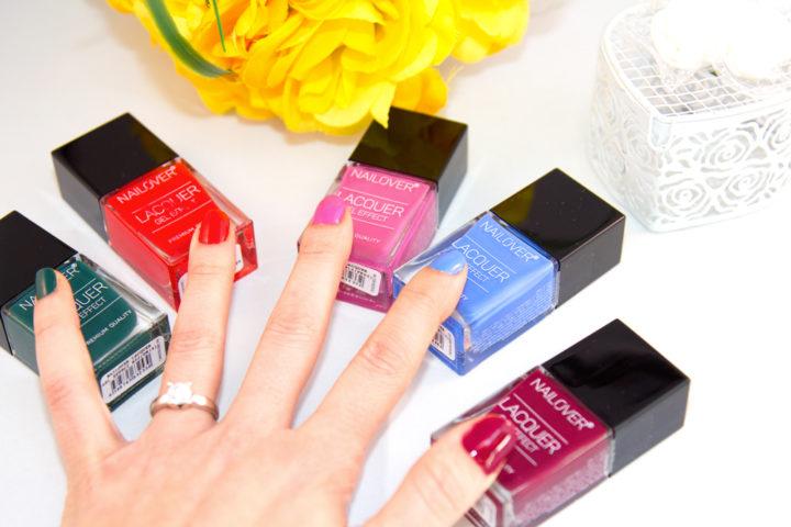 Smalto effetto gel? Vi presento i nuovi Nailover per una manicure perfetta.