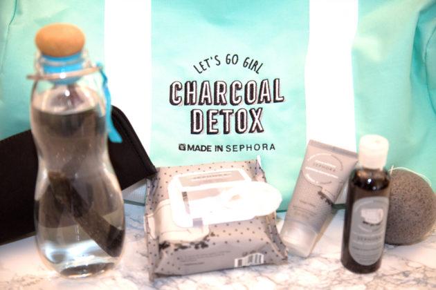 Charcoal Detox, ecco cosa non può mancare nella borsa di sport