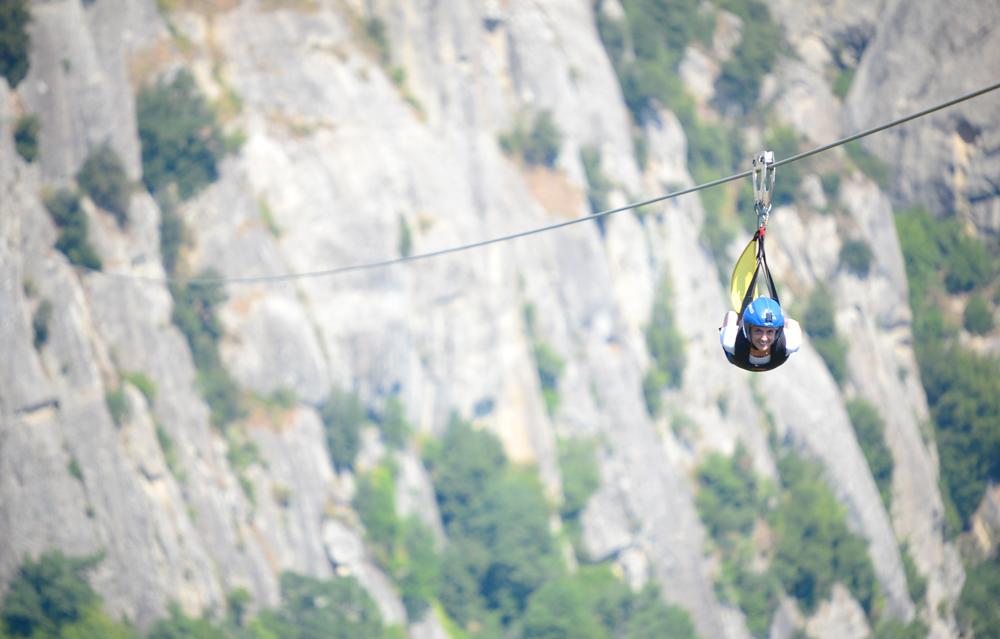Basilicata avventurosa: provate l'emozione del volo dell'angelo tra Castelmezzano e Pietrapertosa