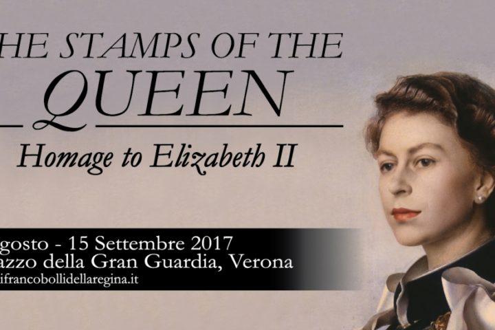 Appassionati di francobolli? Tutti a Verona per la raccolta dedicata a Elisabetta II