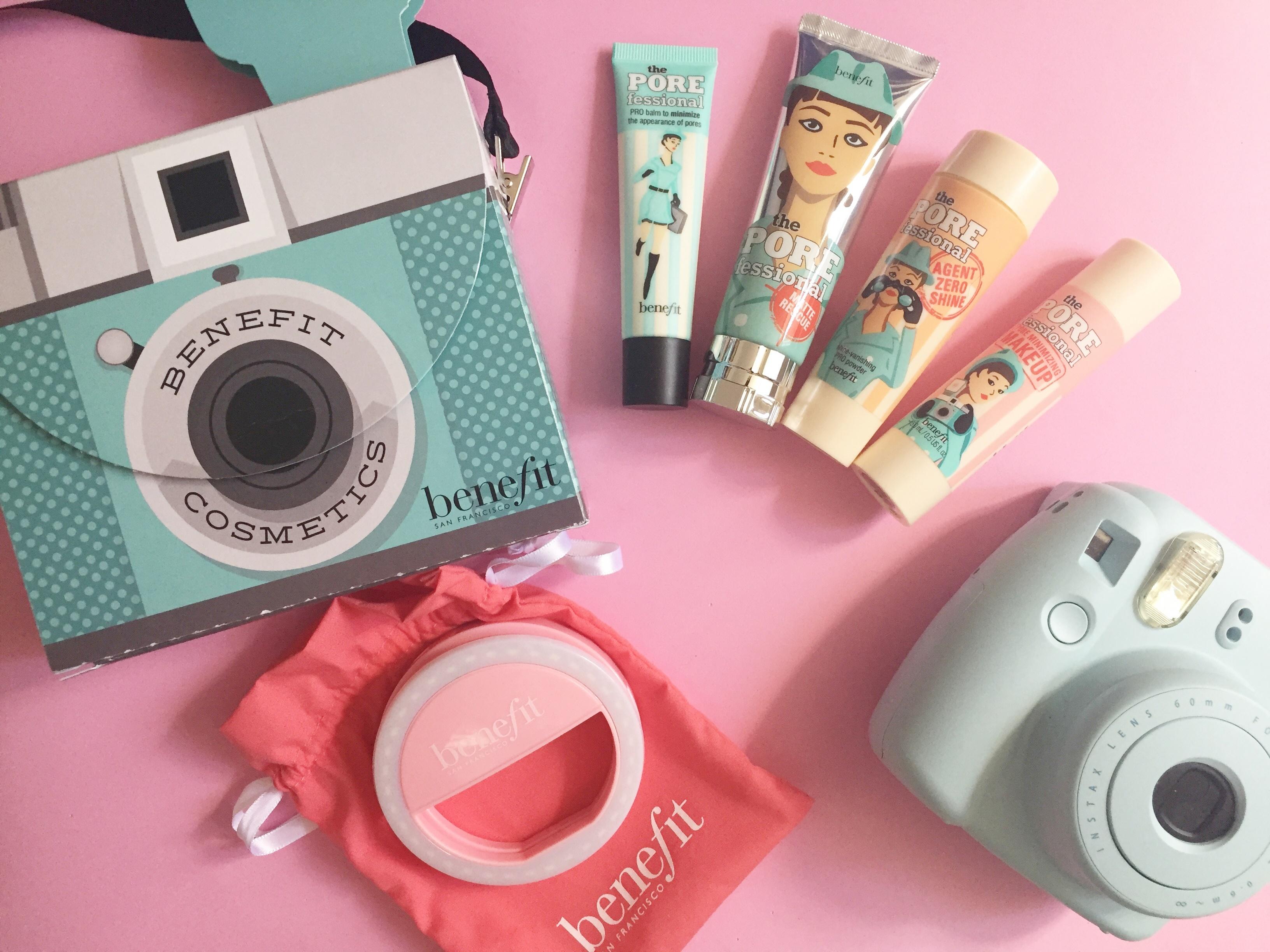 POREfetto di Benefit Cosmetic il kit per avere un makeup per le selfie a prova di caldo