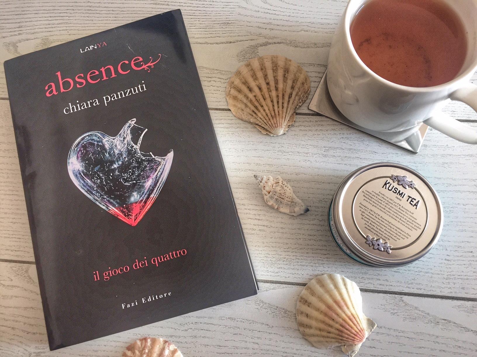 Absence: Il gioco dei quattro (lettura estive per chi ama le trilogie)
