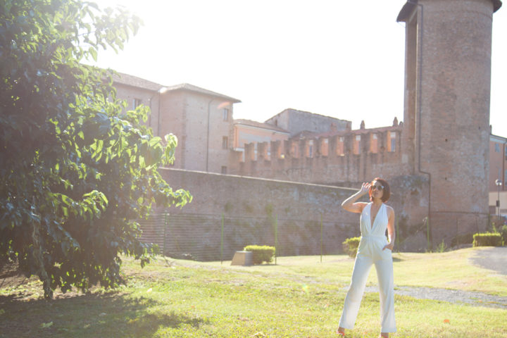 White long jumpsuit per dire addio alla nostra estate 2017