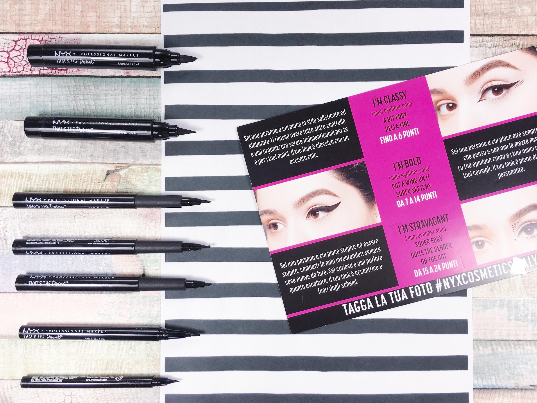 NYX Professional Makeup: arrivano gli eyeliner per tutti i gusti