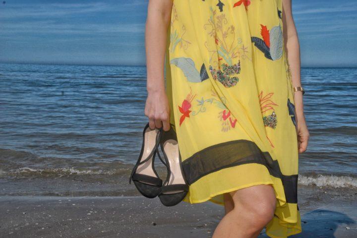 Yellow dress, Princesse Metropolitaine