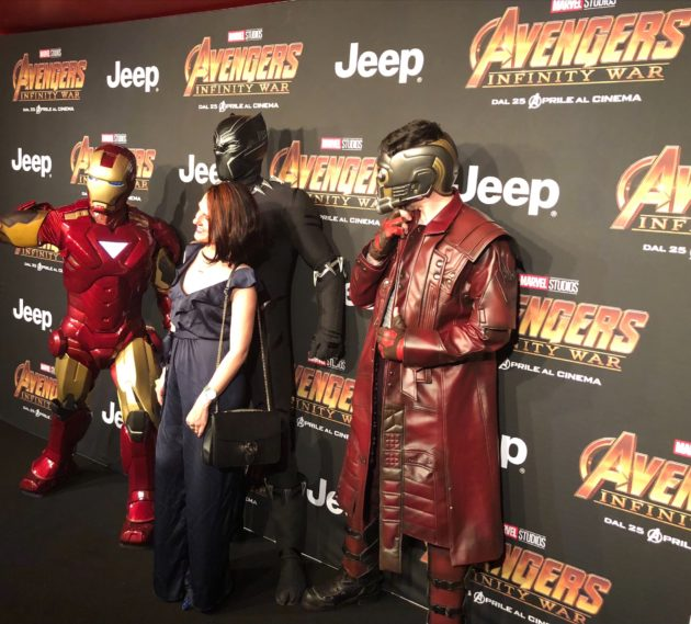 Avengers Infinity War in anteprima a Milano con Lego!