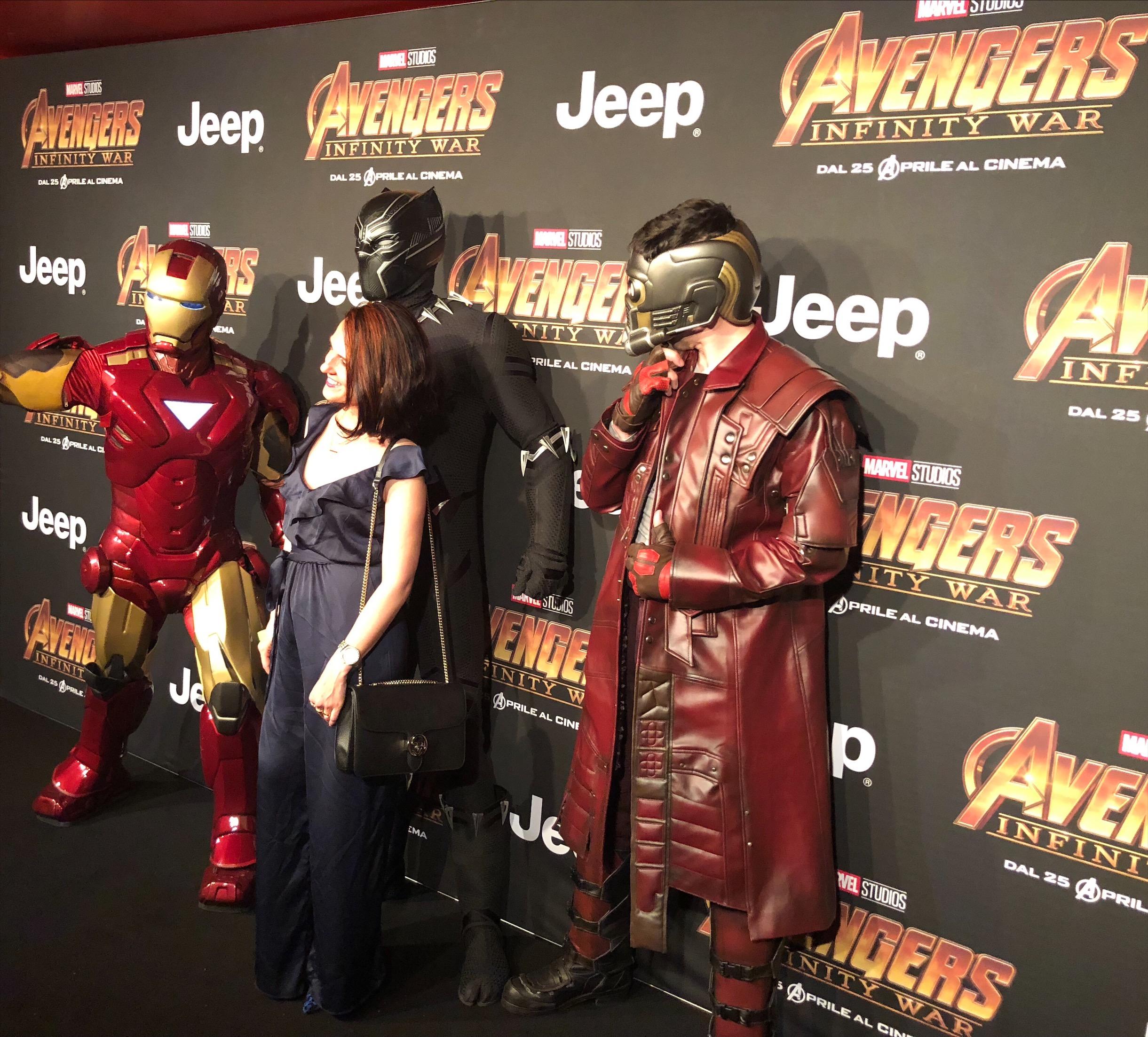 Avengers Infinity War in anteprima a Milano con Lego!