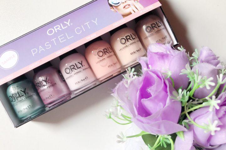 Orly Pastel City: La nuova collezione di smalti per l'estate 2018