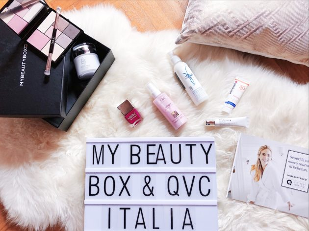 My Beauty Box limited edition in collaborazione con QVC Italia