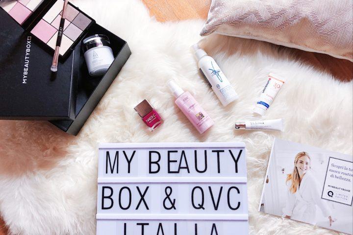 My Beauty Box limited edition in collaborazione con QVC Italia