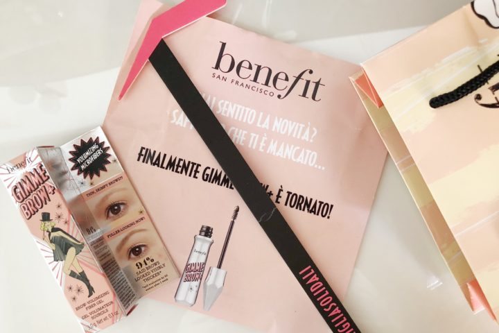 Full Brows by Gimme Brow! E' tornato finalmente uno dei top di Benefit!