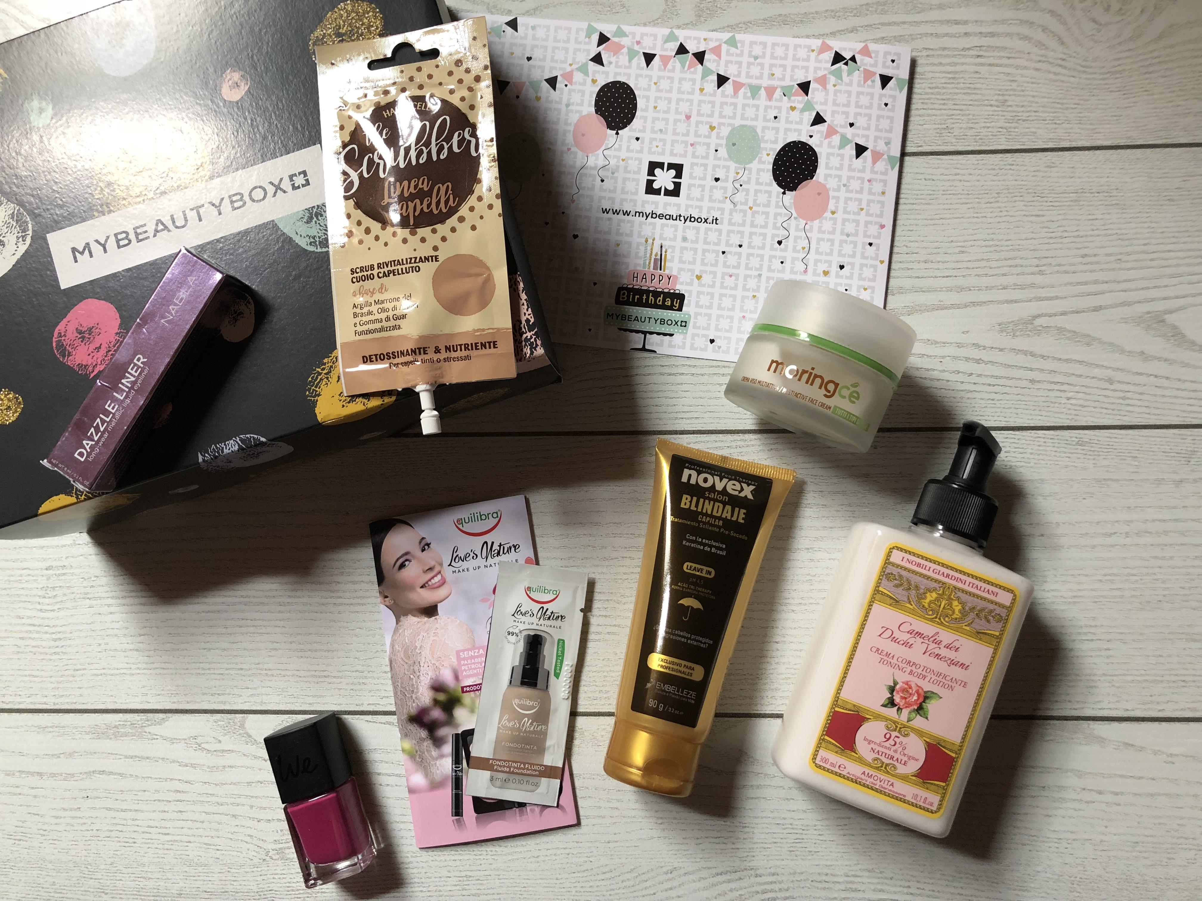 My Beauty Box Maggio: tanti auguri di buon compleanno!