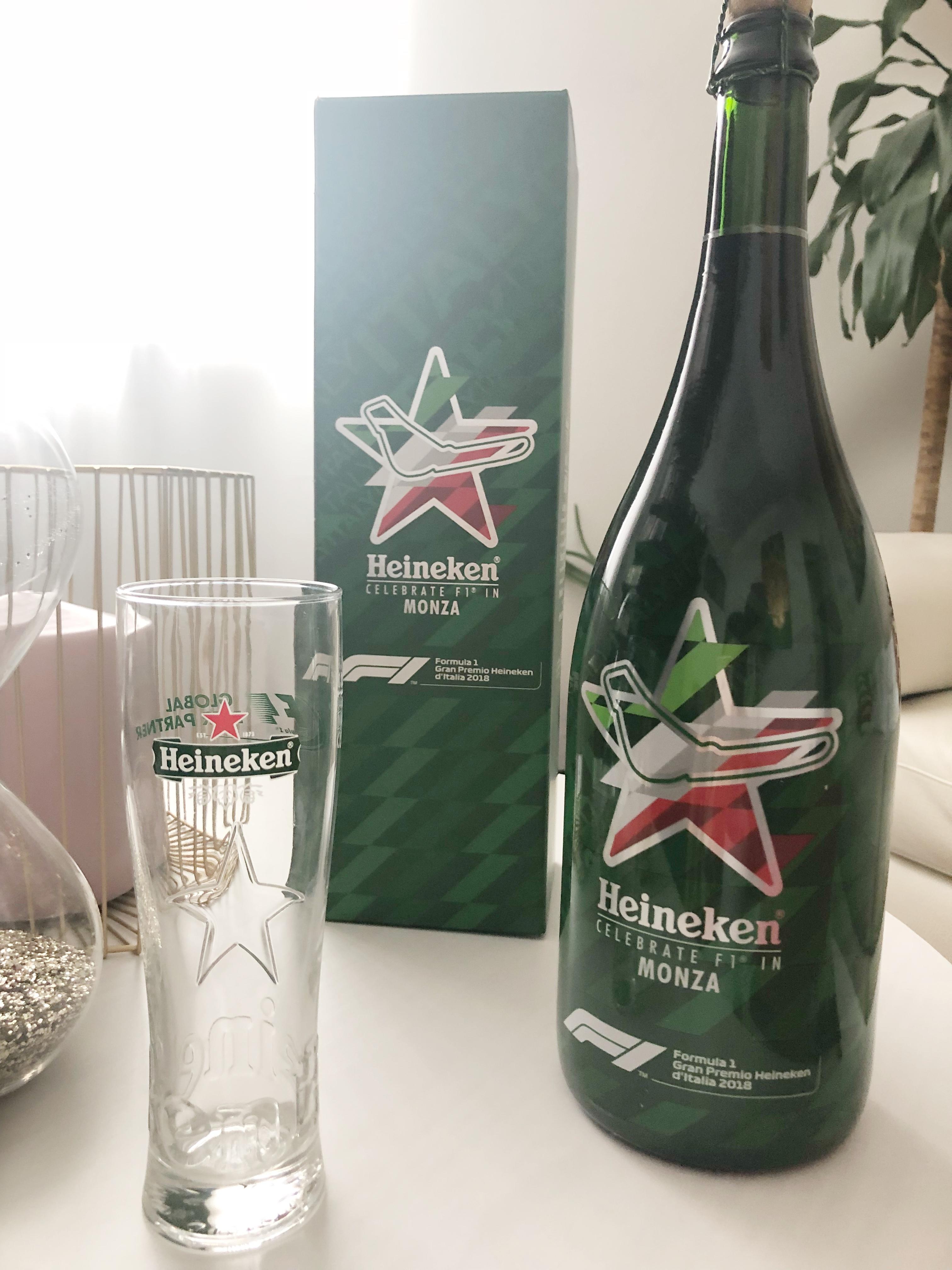Gran Premio d'Italia 2018 in compagnia dello sponsor ufficiale Heineken
