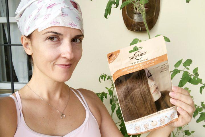 Maschera per capelli in tessuto: Trattamento riparazione di Biopont
