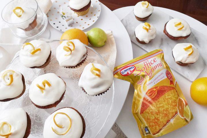 Cupcakes semplici e veloci con frosties all'arancio grazie a Cameo Le Soffici