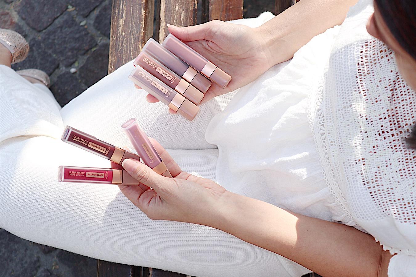 Unlimited Mascara e rossetti liquidi Les Chocolats di L'Oréal