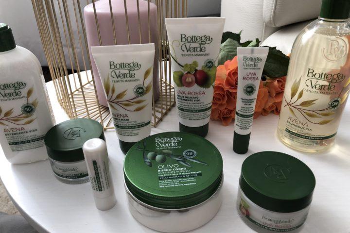 La natura presta i suoi nuovi ingredienti per i prodotti di Bottega Verde