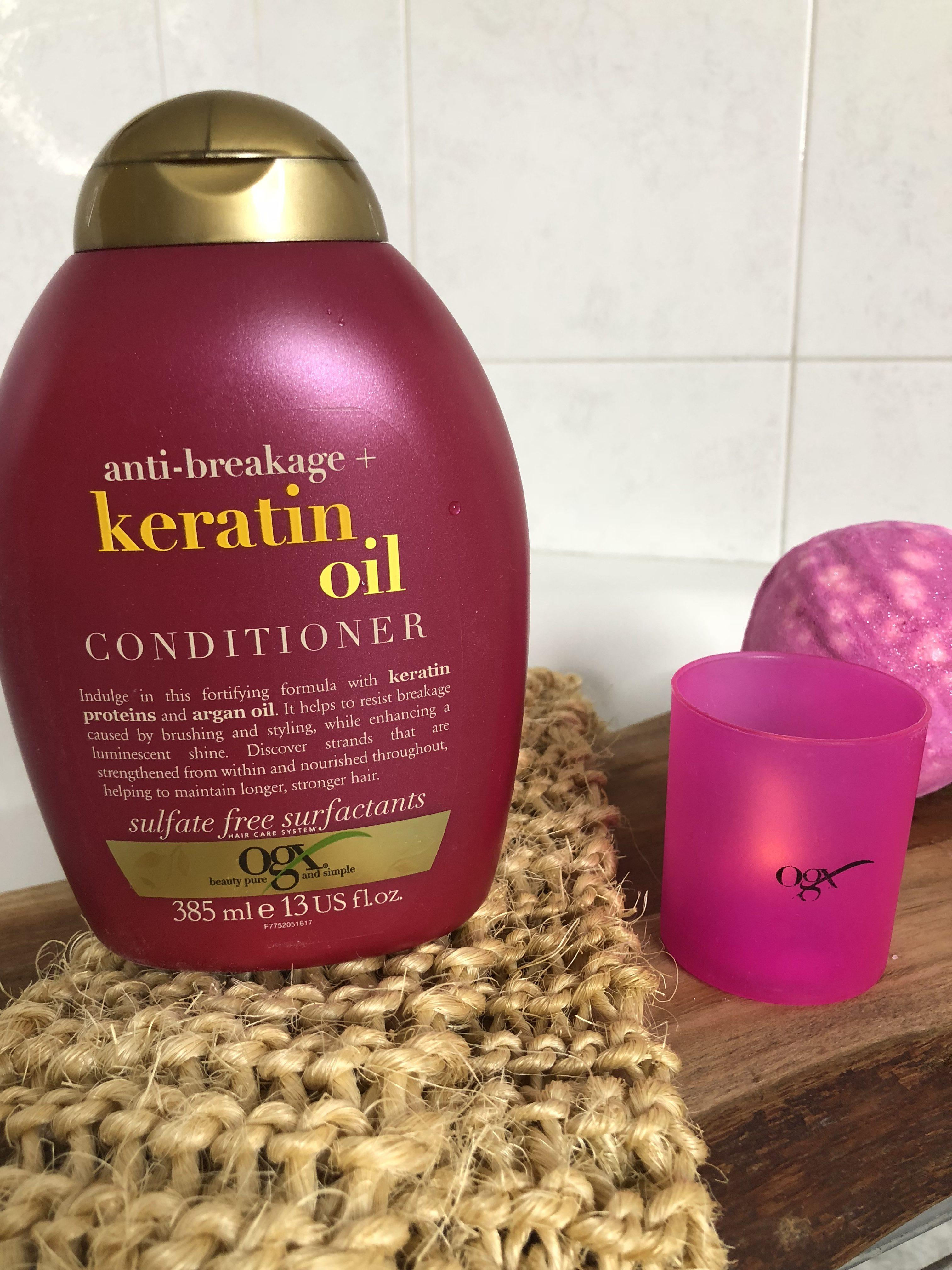 Keratin Oil di OGX Beauty: Capelli splendenti e curati!
