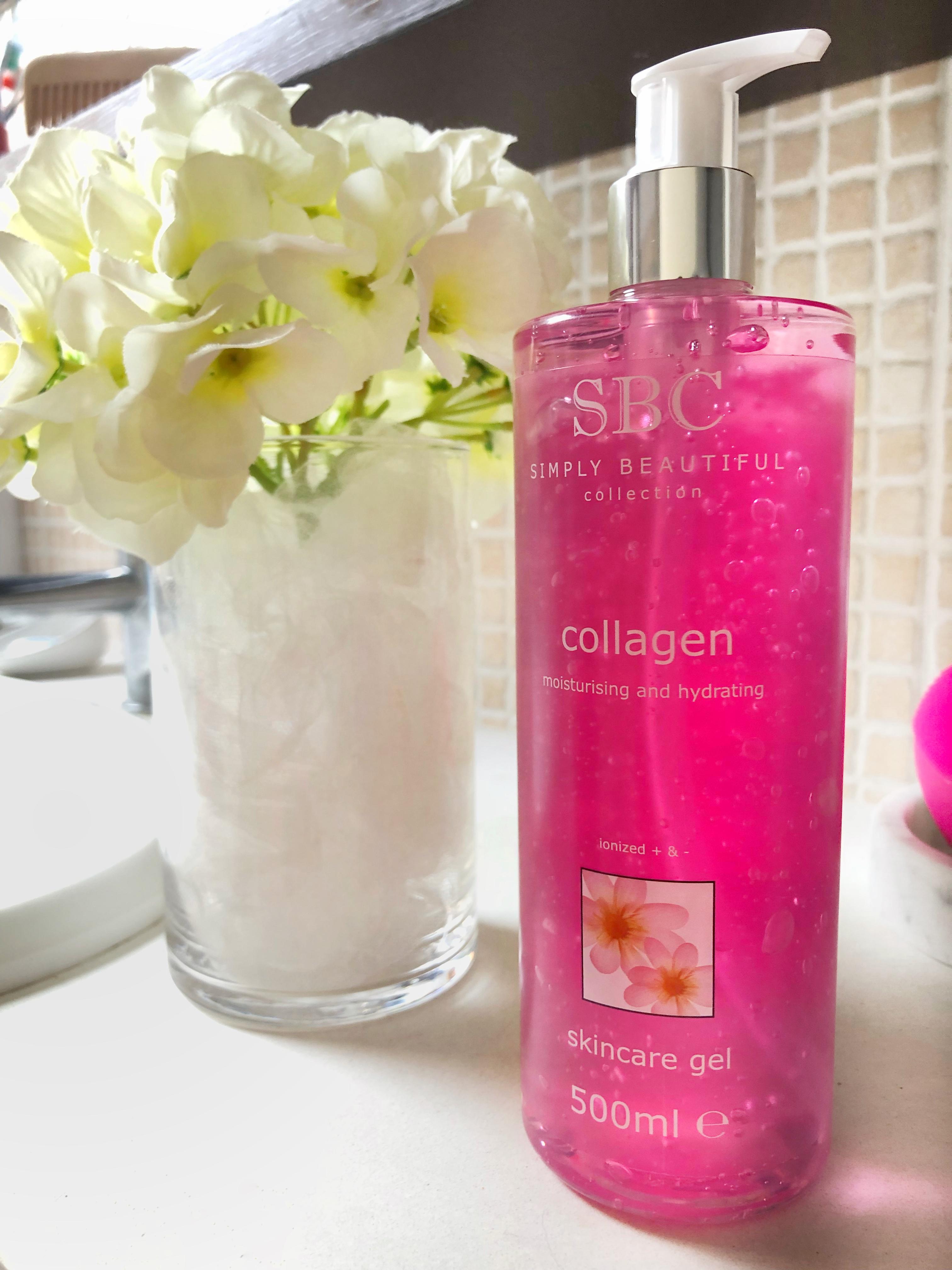 SBC Collagen: Gel per il viso e per il corpo con Collagene marino.