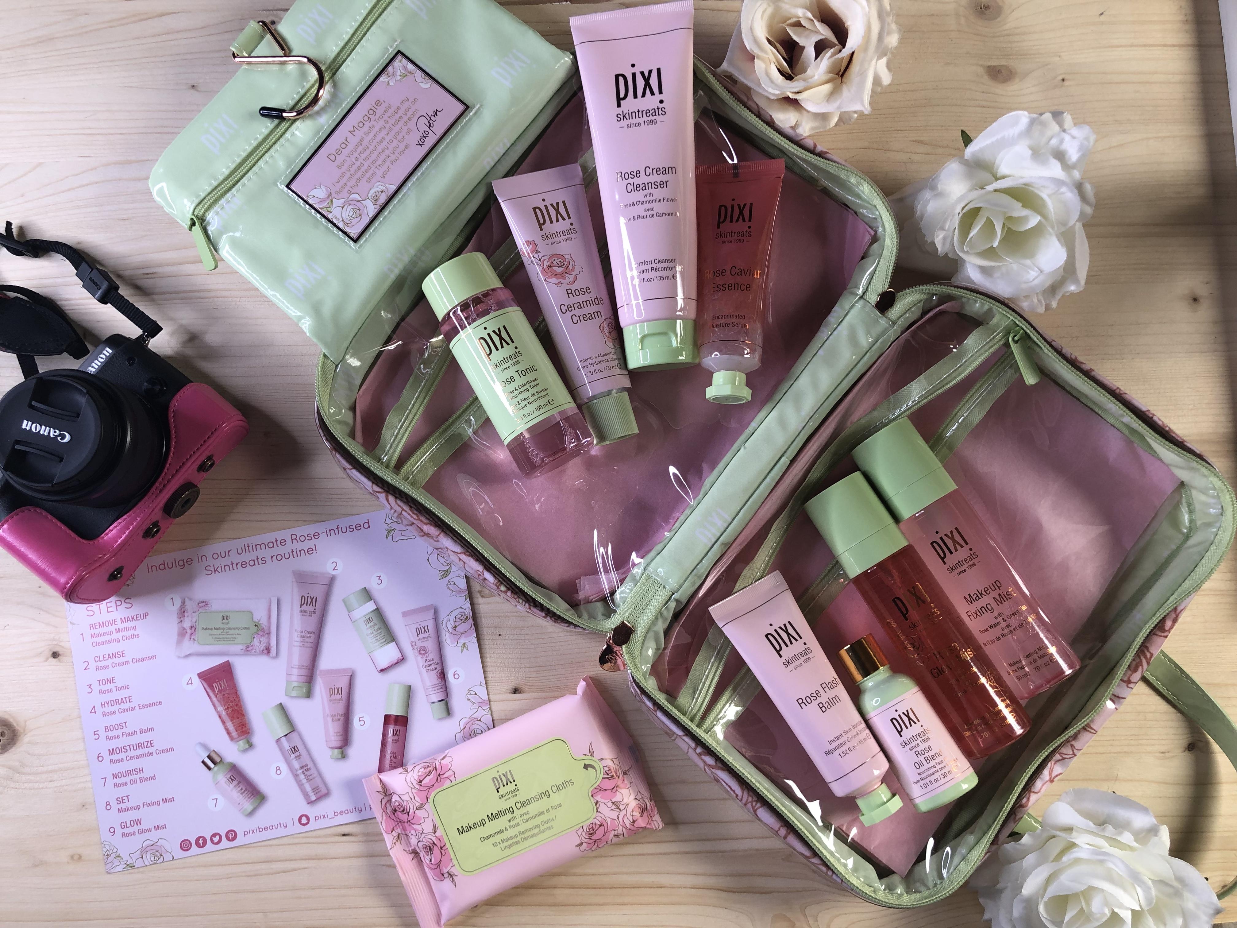 Dream skin con i favolosi Rose-infused di Pixi Cosmetics