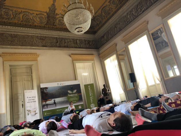 IO Donna Yoga Tour: un'esperienza unica in compagnia di Io donna, Yves Rocher e FAI