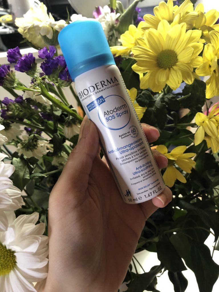 Atoderm SOS Spray di Bioderma: essenziale da tenere in bag