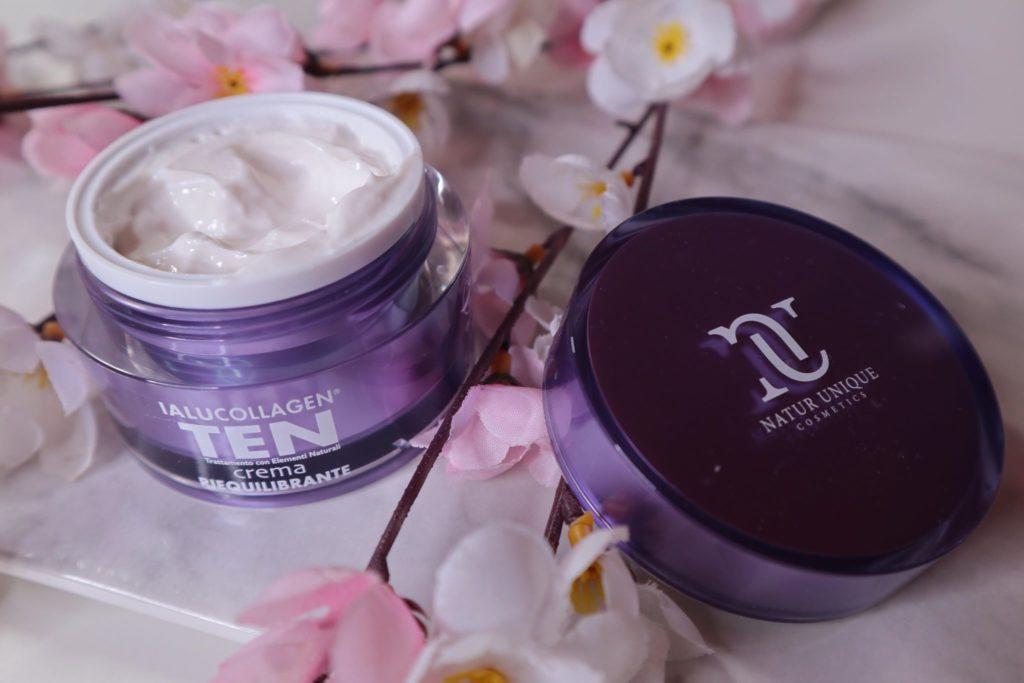 Beauty routine viso personalizzata con la linea Ialucollagen Ten by Natur Unique