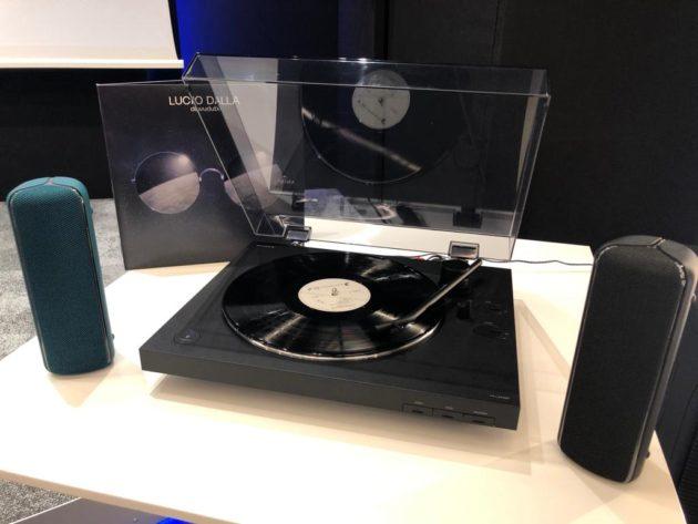 Vinili senza limiti: Sony presenta il nuovo giradischi PS-LX310BT