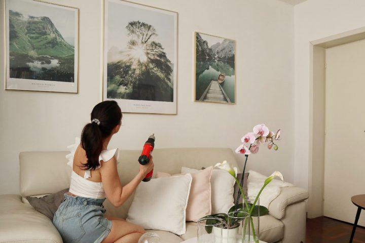 Gallery Wall: come arredare in modo elegante la vostra casa con poster store.