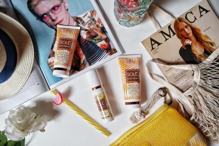 Linea Solè: come proteggere i nostri capelli in estate con i prodotti Creattiva