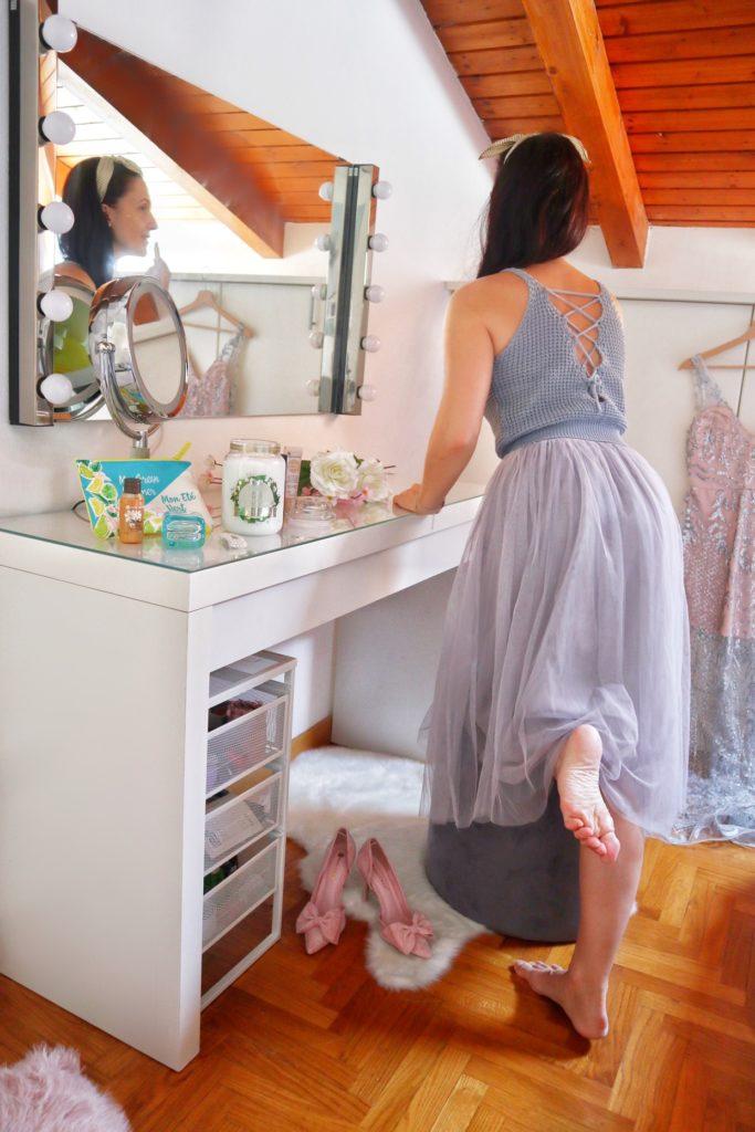 Margaret Dallospedale Blogger, pre fall outfit