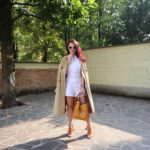 White Romper: come indossare una tuta bianca in autunno