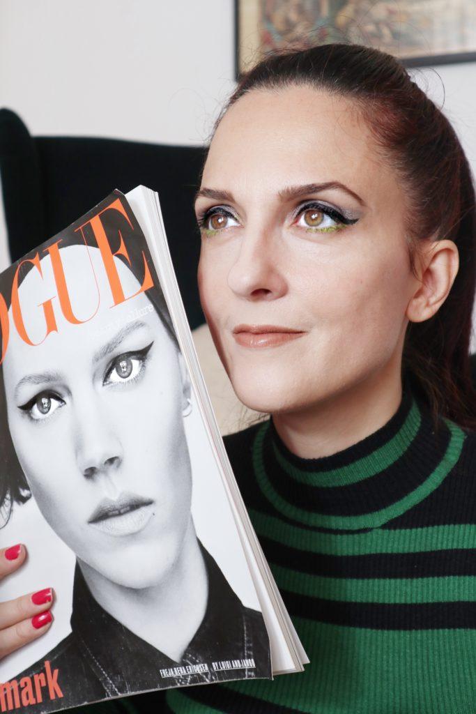 Margaret Dallospedale Dreamskin Care & Perfect e Collezione Fall 2019 Power Look by Dior