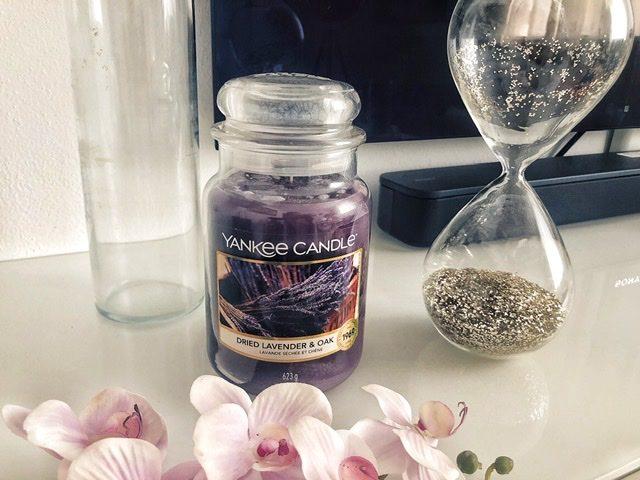 Yankee Candle Dried Lavender & Oak: nuova profumazione