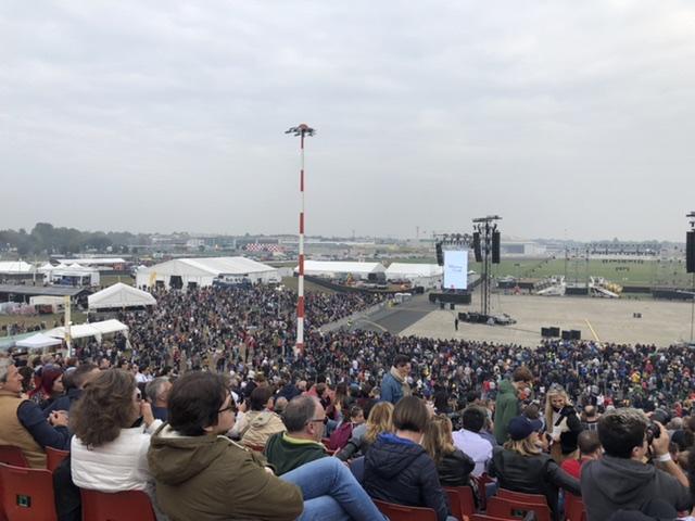Milano Linate Show: celebrando la nuova apertura dell'aeroporto!