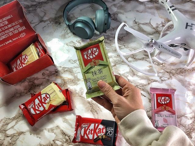 KitKat nuovi gusti: Tè verde Matcha, con fave di cacao Ruby e Dark 70%