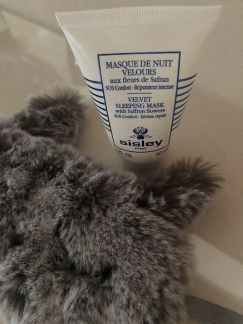 Masque De Nuit Velours di Sisley Paris per riparare intensamente la pelle