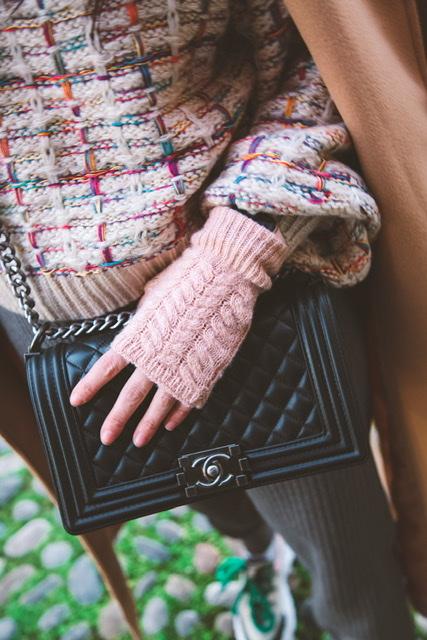 Come vestirsi per fare shopping in inverno (comode e al caldo)