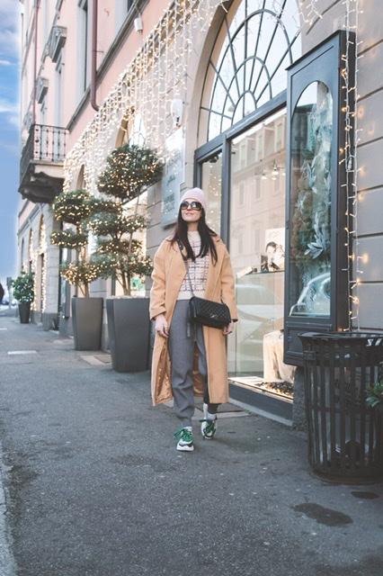 Come vestirsi per fare shopping in inverno (comode e al caldo), Margaret Dallospedale