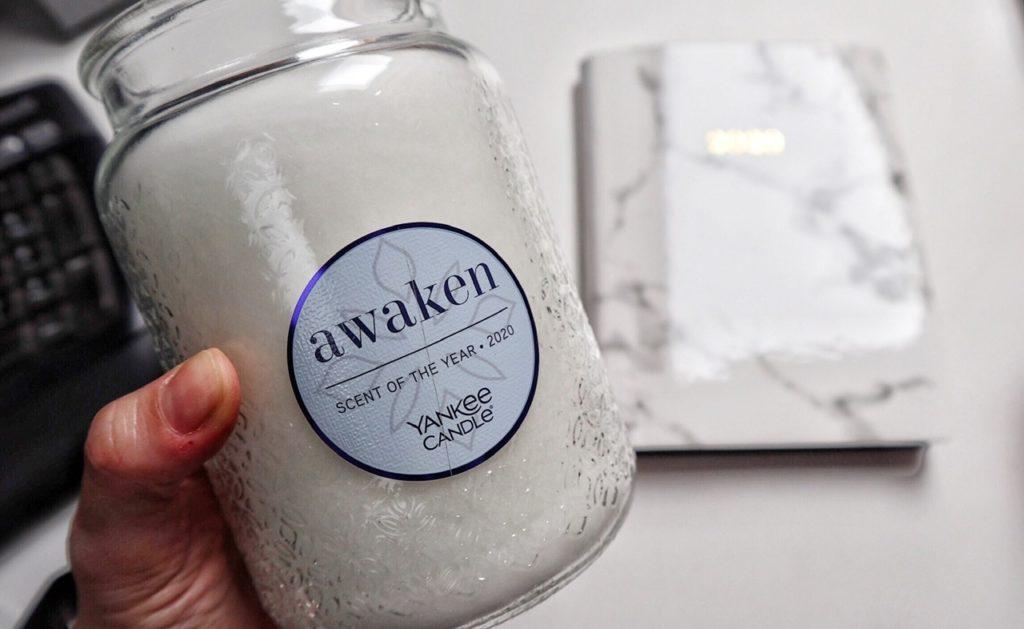 awaken: la nuova fragranza 2020 di Yankee Candle