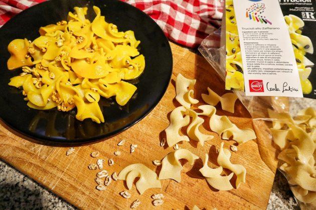 Trucioli allo zafferano: la ricetta di Gualtiero Marchesi fatta con Pasta Latini
