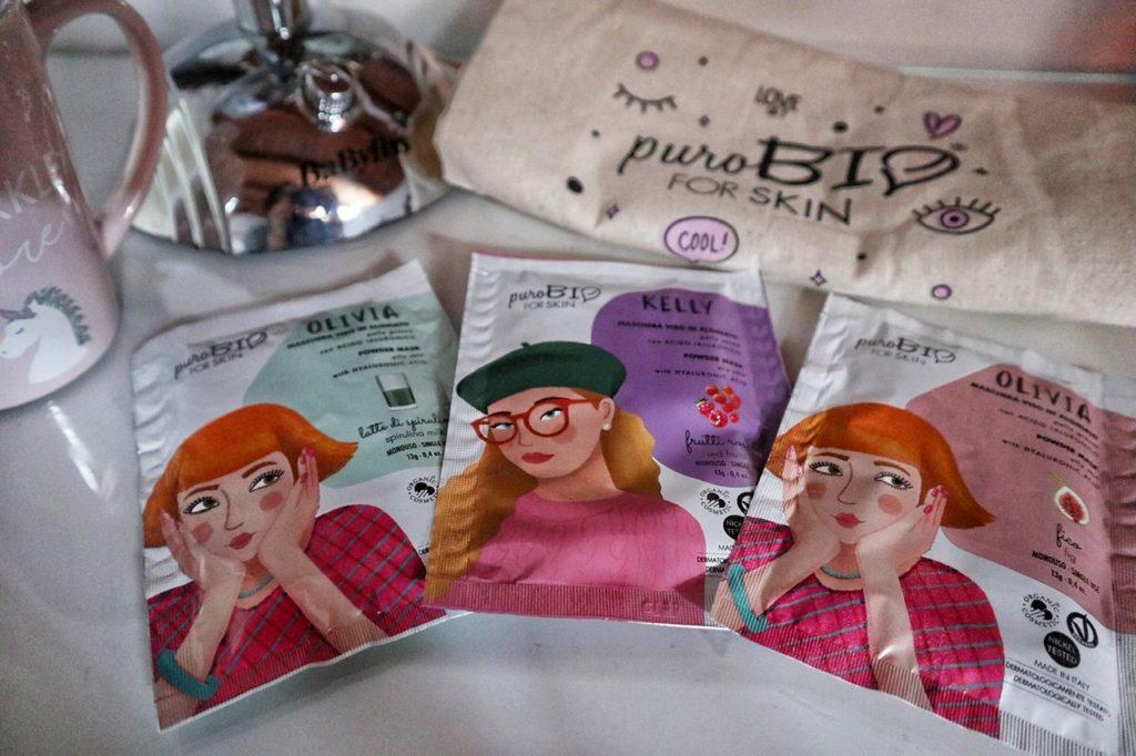 Maschere viso bio: ecco tutte le novità di puroBIO cosmetics