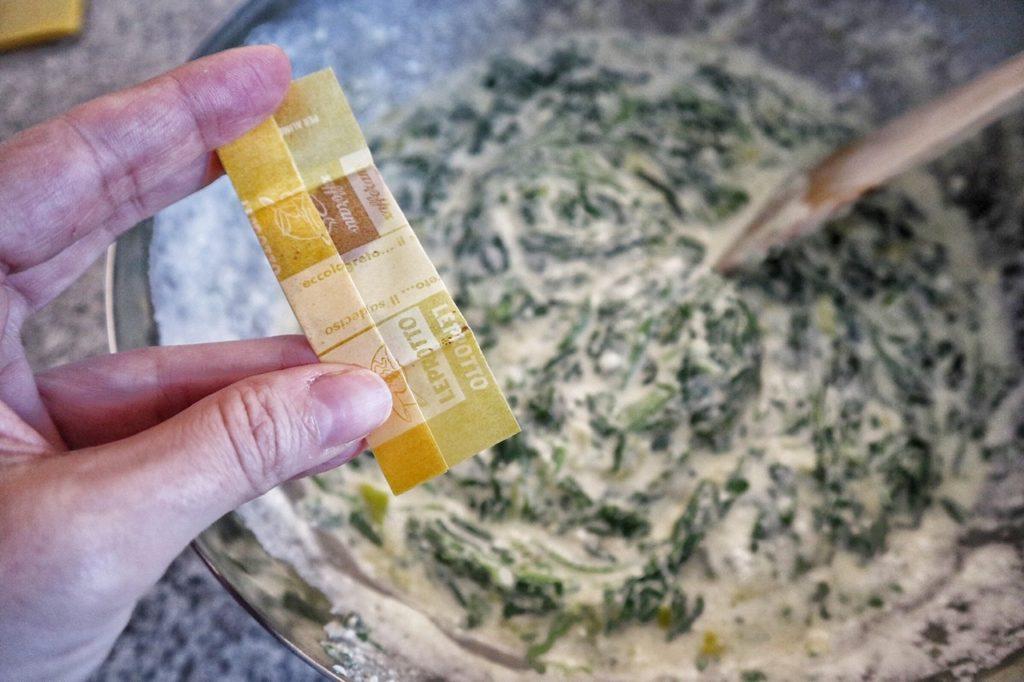 Sformatini di spinaci allo zafferano Leprotto (benefici dello zafferano)