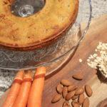 Torta di carote: la mia ricetta con avena, ma senza zucchero, latte e lievito