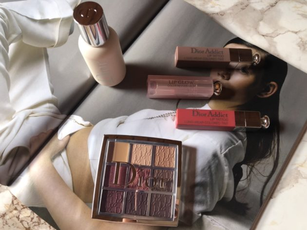 Rosewood Neutrals Eye Palette and Face & Body Primer Dior Backstage