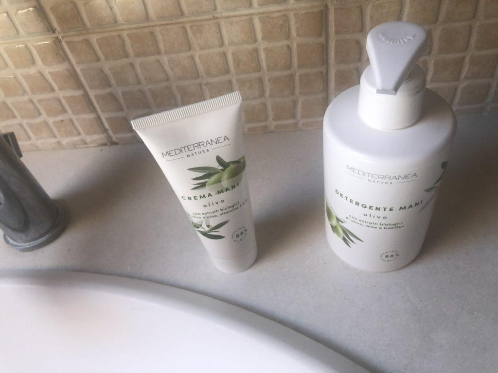Linea Olivo di Mediterranea Cosmetics con prodotti al 98% bio