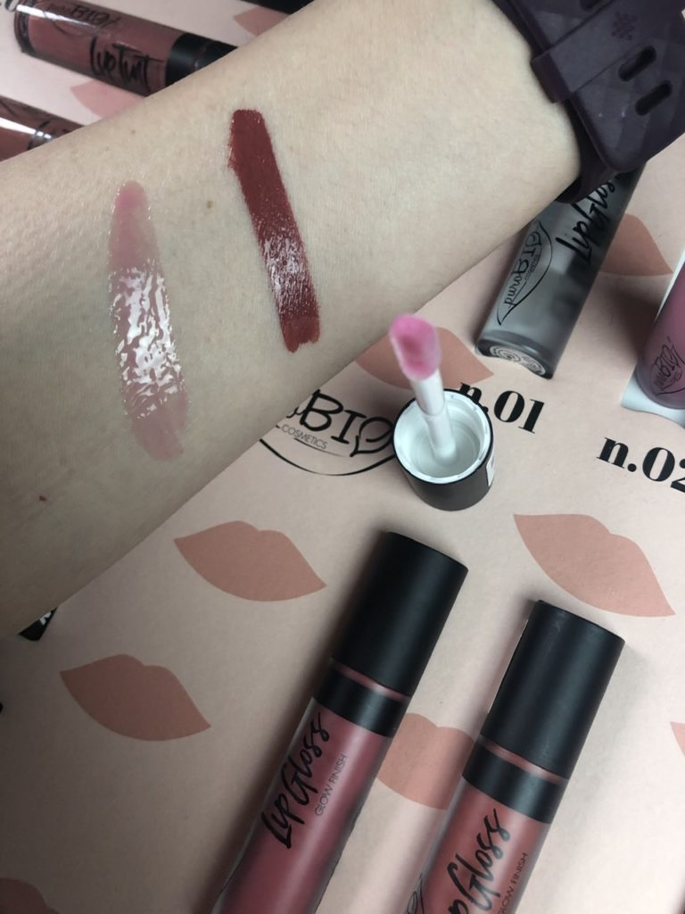 Rossetti e lucidalabbra BIO: le novità di puroBIO sono  Liptint and Lipgloss