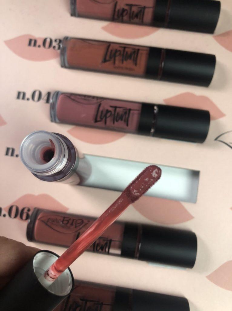 puroBIO Cosmetics liptint e lipgloss