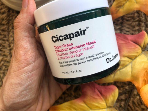 Maschera notte per la pelle del viso alla centella asiatica di Dr. Jart