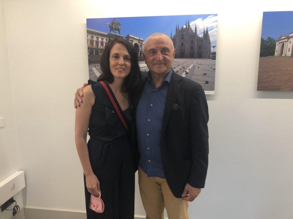 """Mauro Parmesani e la sua mostra fotografica """"Milano e il Lockdown"""""""